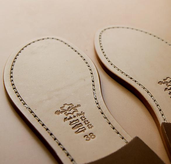 Suole per sandali artigianali